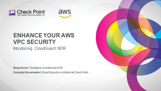 Enhance your AWS VPC security, introducing Check Point CloudGuard NDR