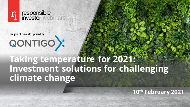 Taking temperature for 2021: Investment solutions for challenging climate change
