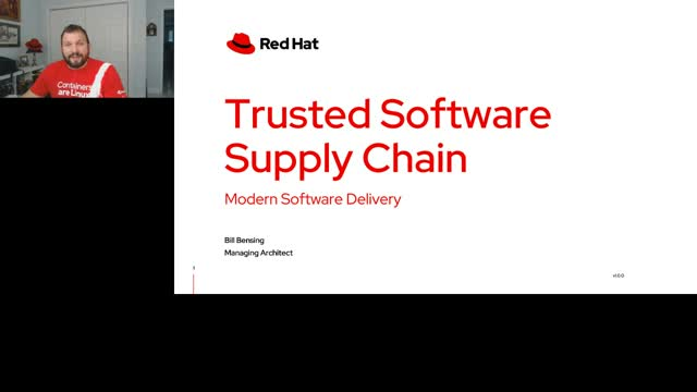 Trust and software supply chain management