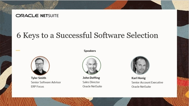 6 Keys to a Successful Software Selection