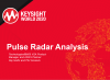 Analysis and Measurements of Pulsed Radar Signals