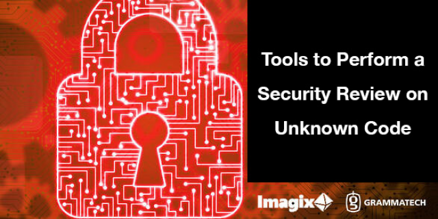 Tools to Perform a Security Review on Unknown Code with Imagix