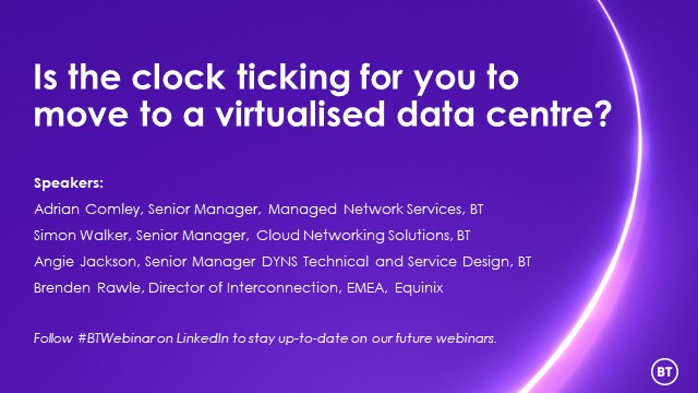 Is the clock ticking for you to move to a virtualised data centre?