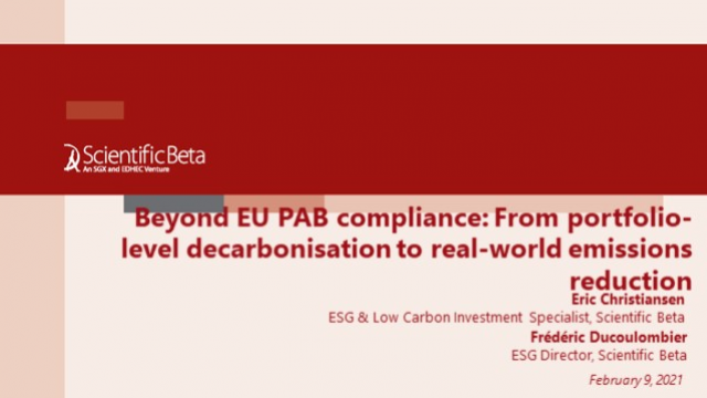 From portfolio-level decarbonisation to real-world emissions reduction