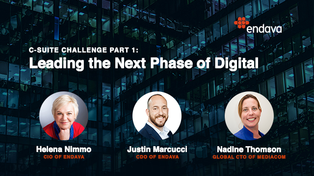 C-Suite Challenge Part 1: Leading the Next Phase of Digital