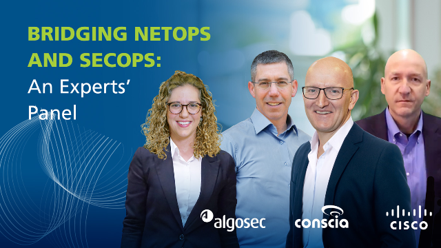 Bridging NetOps and SecOps: An Experts' Panel
