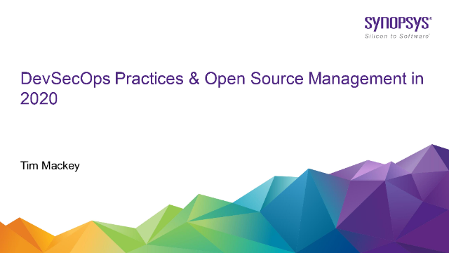 DevSecOps Practices and Open Source Management