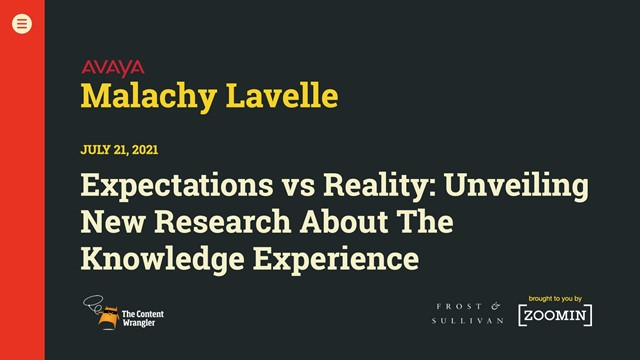 Expectations vs. Reality: Unveiling New Research About The Knowledge Experience