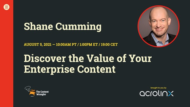 Discover The Value of Your Enterprise Content