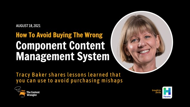How To Avoid Buying the Wrong Component Content Management System