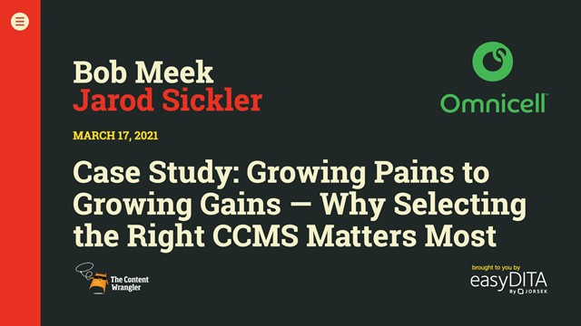 Growing Pains to Growing Gains: Why Selecting the Right CCMS Matters Most