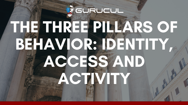 The Three Pillars of Behavior: Identity, Access and Activity