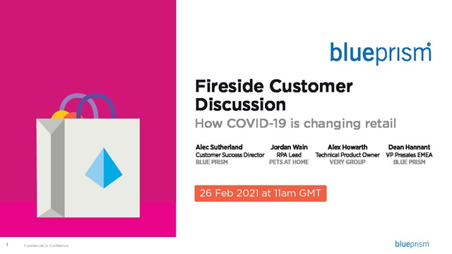 Fireside Customer Discussion – How Covid-19 is changing retail