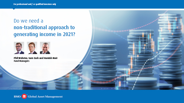 Do we need a non-traditional approach to generating income in 2021?