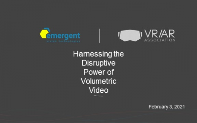 Harnessing the Disruptive Power of Volumetric Video (Sponsored by Emergent)