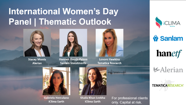International Women's Day Panel | Thematic Outlook