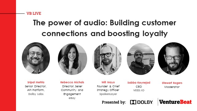 The power of audio: Building customer connections and boosting loyalty