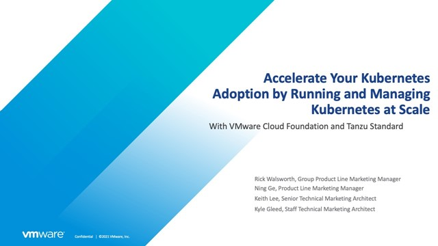 Accelerate Your Kubernetes Adoption by Running and Managing Kubernetes at Scale
