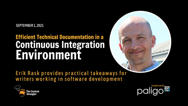 Efficient Technical Documentation in a Continuous Integration Environment
