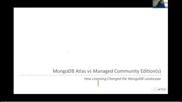 MongoDB Atlas vs Managed Community Edition