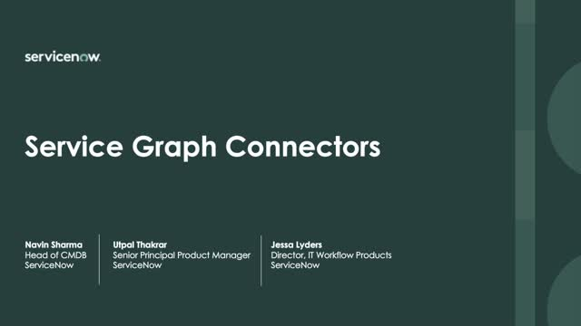 Introducing new Service Graph Connectors