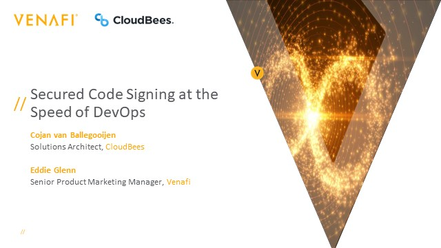 Secured Code Signing at the Speed of DevOps