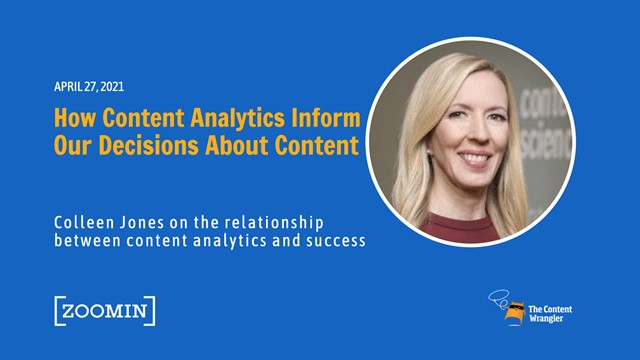 The Content Advantage: How Content Analytics Inform Our Decisions About Content