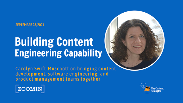Building Content Engineering Capability