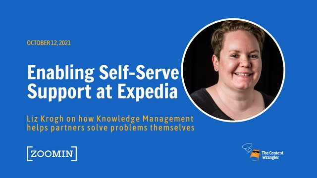Enabling Self-Serve Support at Expedia