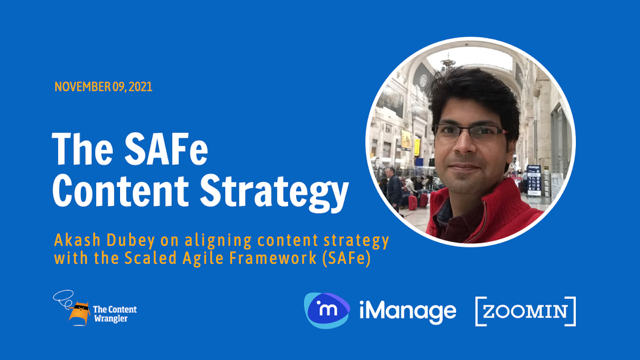 SAFe Content Strategy: Aligning Content Strategy with the Scaled Agile Framework