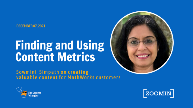 Finding and Using Content Metrics