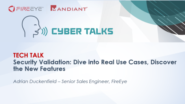 Security Validation, dive into real use cases, discover the 2021 new features