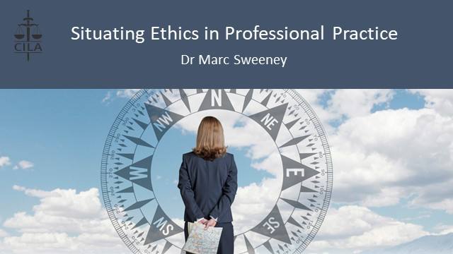 Situating Ethics in Professional Practice - Reflexivity in practice