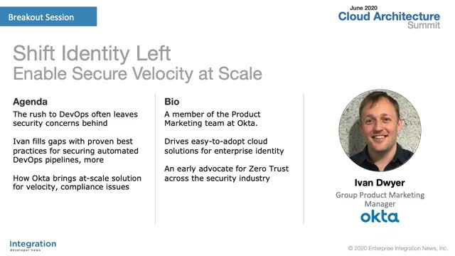 Shift Identity Left - Enable Secure Velocity at Scale