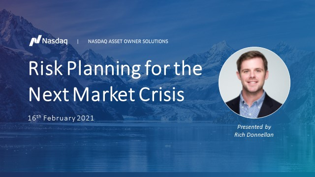 Risk planning for the next market crisis