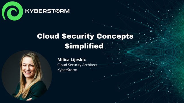 Simplifying Cloud Security Concepts