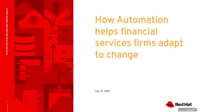 How automation helps financial services change