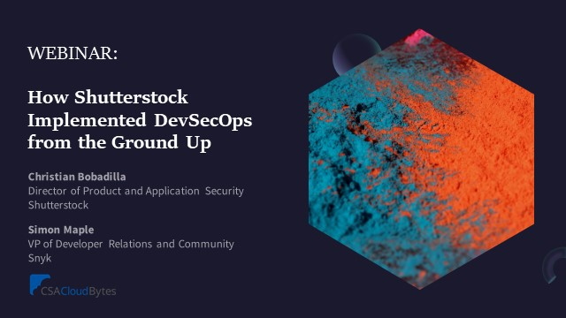 How Shutterstock Implemented DevSecOps from the Ground Up