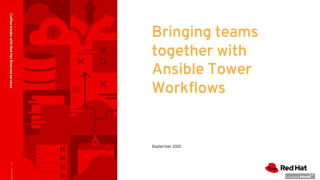 Bringing Teams together with Ansible Workflows