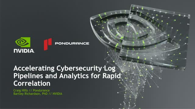 Accelerating Cybersecurity Log Pipelines and Analytics for Rapid Correlation
