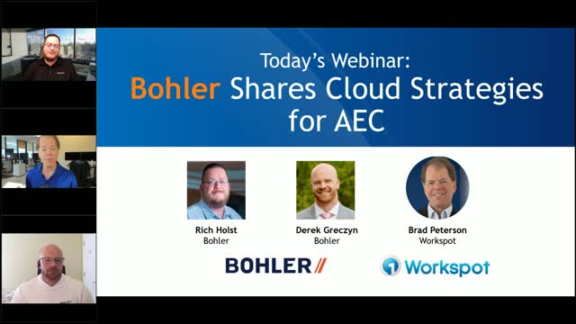 Bohler Engineering shares their cloud strategies for AEC