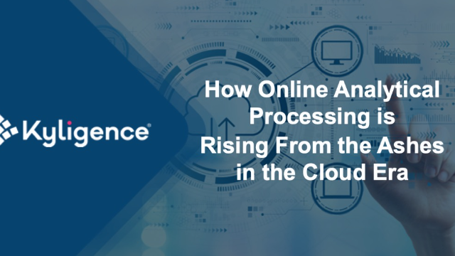 How Online Analytical Processing is Rising From the Ashes in the Cloud Era