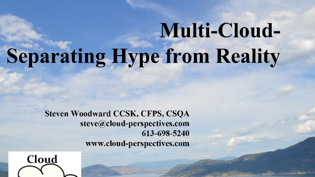 Multi-Cloud – Separating the Hype from Reality