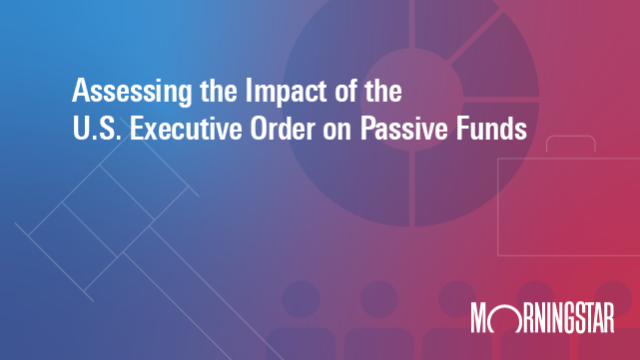 Assessing the Impact of the U.S. Executive Order on Passive Funds