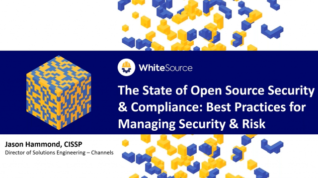The State of Open Source Security & Compliance: Best Practices