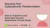 How to Transform and Automate Security Operations: A Case Study
