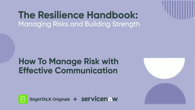 How To Manage Risk with Effective Communication
