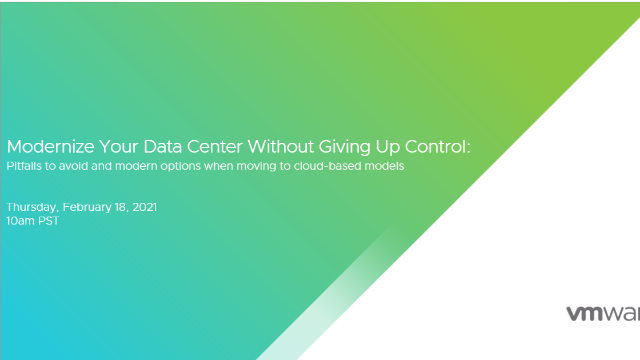 5 Pitfalls to Avoid When Modernizing Your Data Center for the Cloud