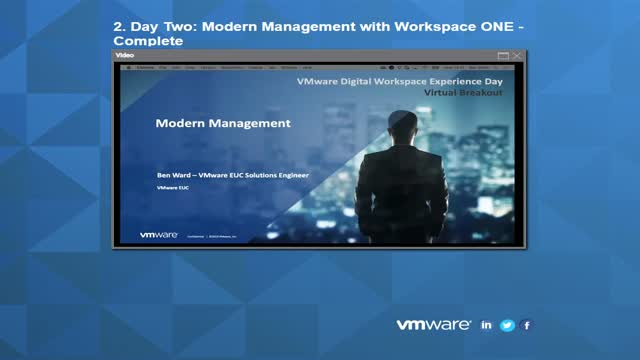 Modern Management with Workspace ONE