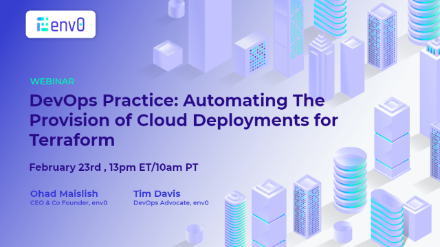 DevOps Practice: Automating The Provision of Cloud Deployments for Terraform
